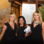 Lisa Bernardini con le sorelle Squizzato