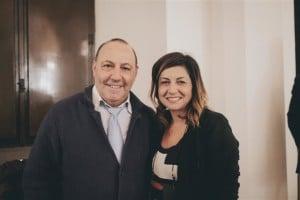 Mauro Boccuccia con Lisa Bernardini (Small)