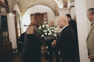 Vakentina Ducros e Maurizio Ferrini (Small)