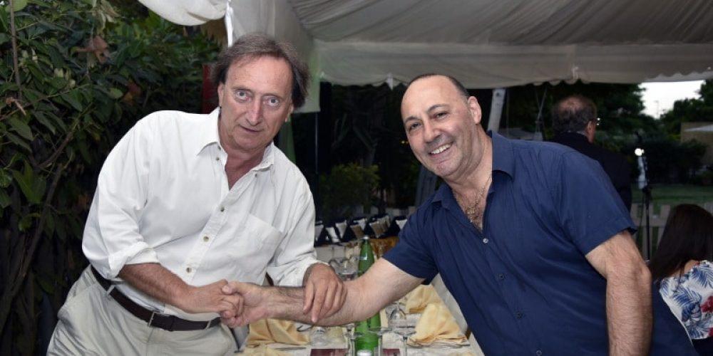 Amedeo Goria e Mauro Boccuccia allo stand de La Coccinella