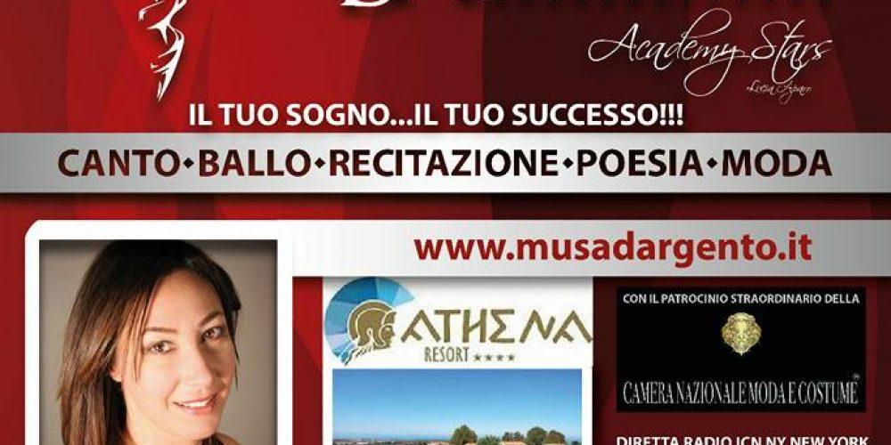 Locandina madrina sezione cinema al Premio Musa d'Argento